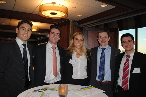 Loyola undergraduate business students at the regional 2016 Global Investment Research Challenge
