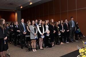 Loyola Beta Gamma Sigma Induction - 2016 inductees