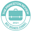 Badge: The Princeton Review 2020 Best Business Schools