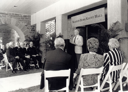 Knott Hall in 1989