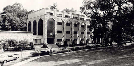 Maryland Hall in 1962