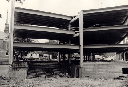 Donnelly Science Center in 1978