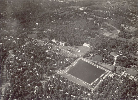 Aerial View of Loyola in the 1940s