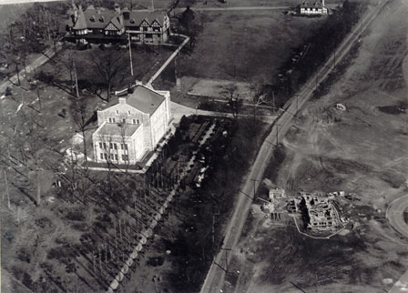 Aerial View of Loyola in 1924
