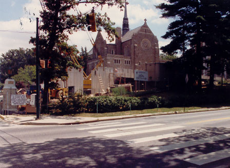 Knott Hall in 1987
