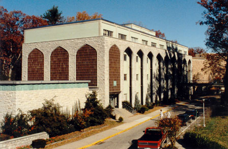 Maryland Hall in 1988