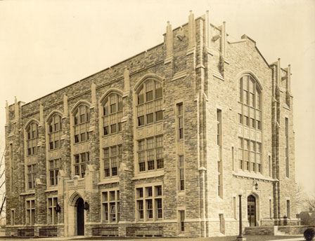 Jenkins Hall in 1928