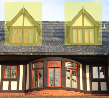 Humanities Dormer Windows