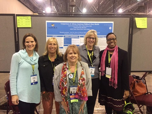 Caesar and Kerins with faculty | ASHA Convention
