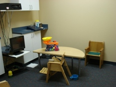 Columbia Clinic Therapy Room