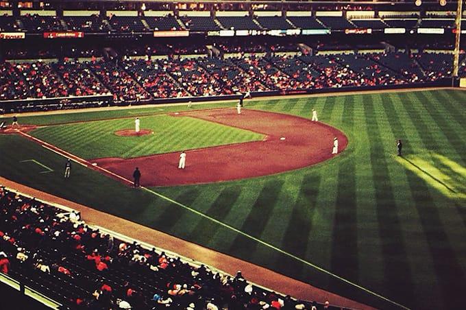 A baseball field